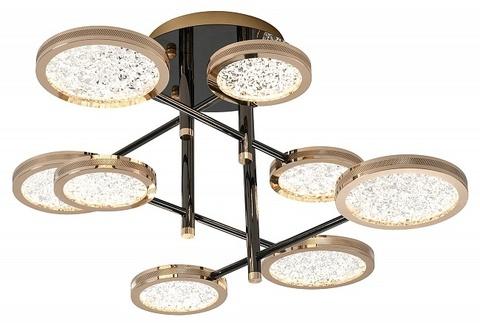 Потолочный светильник Escada 10240/8 LED*64W Gold/Shiny black
