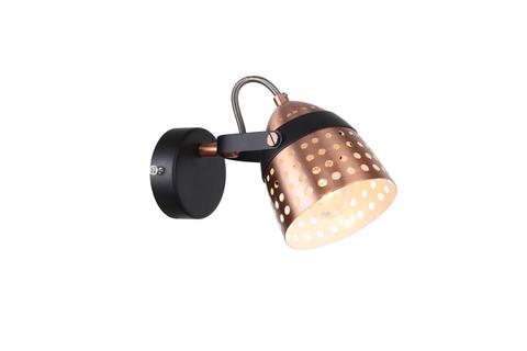 Настенный светильник Escada 1138/1A E14*40W Black/Copper