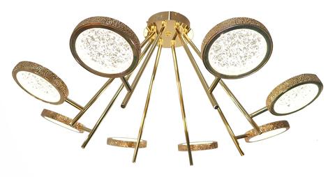 Потолочный светильник Escada 10241/8 LED*72W Gold