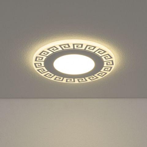 Встраиваемый светодиодный светильник DSS002 7+3W 4200K