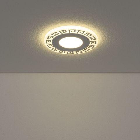 Встраиваемый светодиодный светильник DSS002 3+3W 4200K