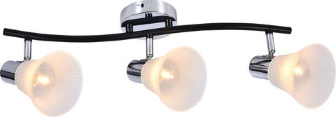 Настенный светильник Escada 661/3P E14*60W Chrome/Black