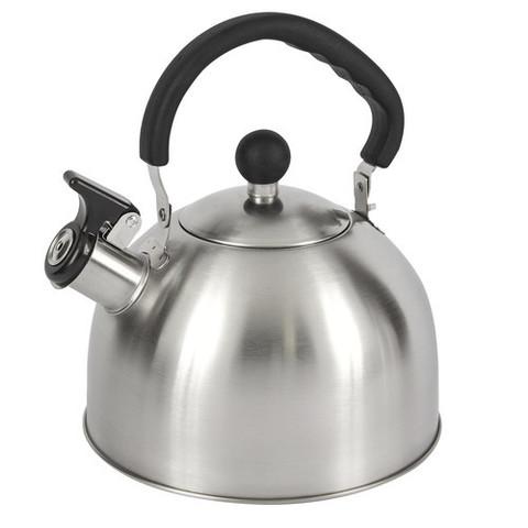 Чайник со свистком LUMME LU-268 черный жемчуг