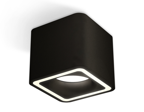 Комплект накладного светильника XS7806020 SBK черный песок MR16 GU5.3 (C7806, N7716)
