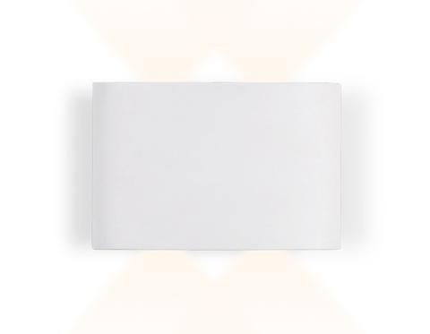 Настенный светодиодный светильник FW142 WH/S белый/песок LED 3000K 4W 120*80*40