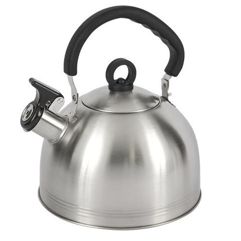 Чайник со свистком LUMME LU-268  серый гранит
