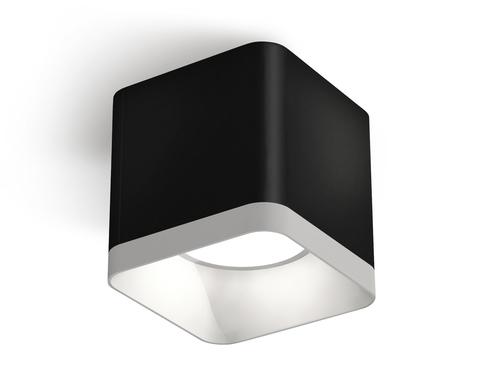 Комплект накладного светильника XS7806001 SBK/SWH черный песок/белый песок MR16 GU5.3 (C7806, N7701)