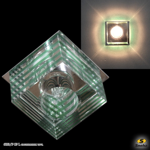 6023/F G9 GR светильник точ.