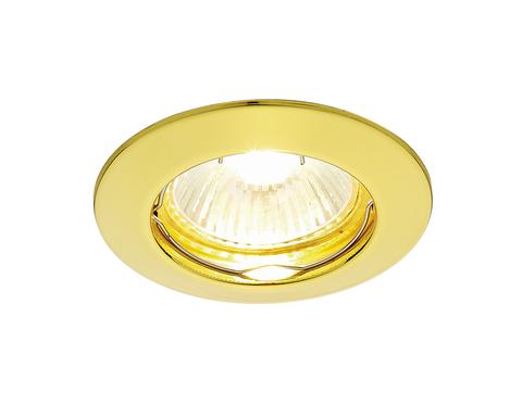 Встраиваемый точечный светильник 863A GD золото MR16
