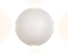 Настенный светодиодный светильник FW134 WH/S белый/песок LED 3000K 12W D100*100