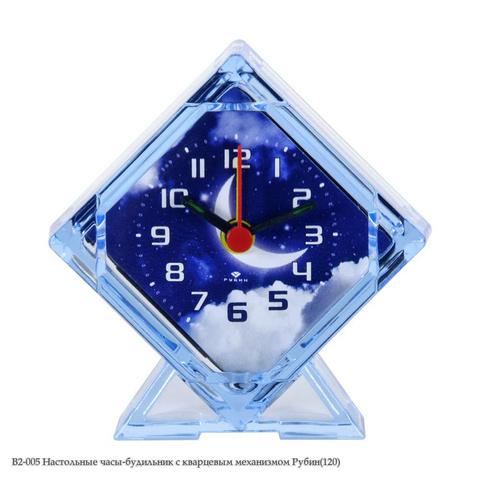 В2-005 Настольные часы-будильник с кварцевым механизмом
