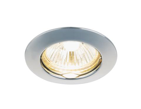 Встраиваемый точечный светильник 863A CH хром MR16
