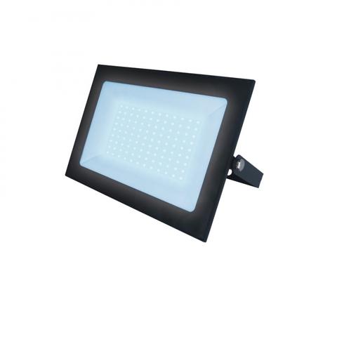 ULF-F21-100W/6500K IP65 200-250В BLACK Прожектор светодиодный. Дневной свет (6500K). Корпус черный. TM Uniel