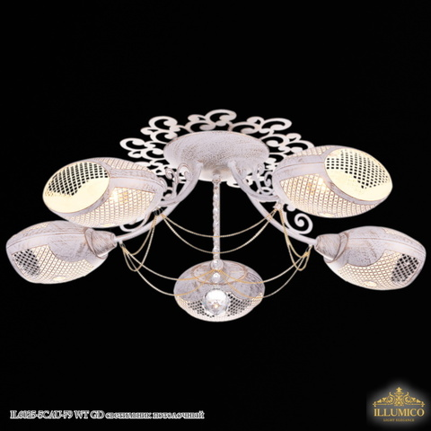 IL6025-5CAU-79 WT GD светильник потолочный