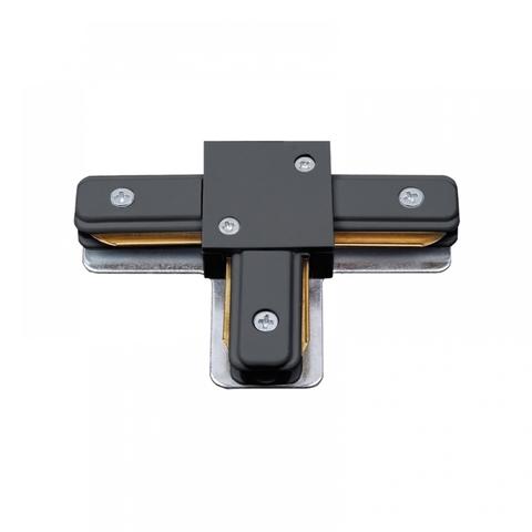 UBX-Q122 G31 BLACK 1 POLYBAG Соединитель для шинопроводов типа G, Т-образный Однофазный. Черный. ТМ Volpe.