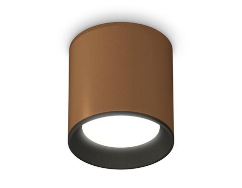 Комплект накладного светильника XS6304001 SCF/SBK кофе песок/черный песок MR16 GU5.3 (C6304, N6102)
