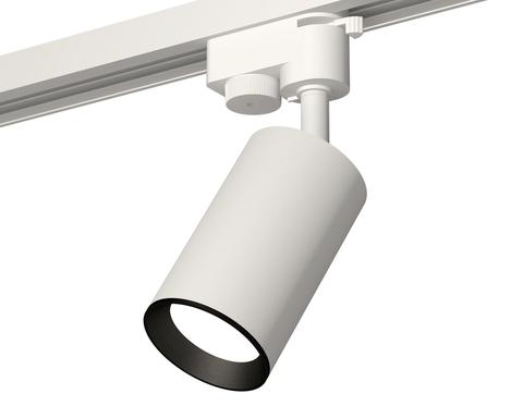 Комплект трекового светильника XT6322003 SWH/PBK белый песок/черный полированный MR16 GU5.3 (A2520, C6322, N6103)