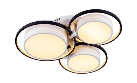 Потолочный светильник Escada 10243/6 LED*105W Black/White