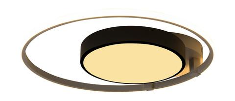 Потолочный светильник Escada 10244/2 LED*65W Black/White