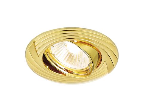 Встраиваемый точечный светильник 722 GD золото MR16