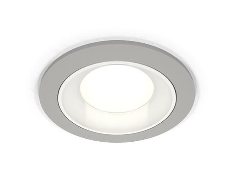 Комплект встраиваемого светильника XC7623060 SGR/SWH серый песок/белый песок MR16 GU5.3 (C7623, N7020)