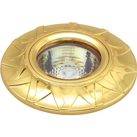 Точечный светильник ENNA GU5.3 001 GD