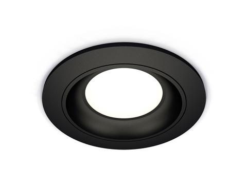Комплект встраиваемого светильника XC7622060 SBK черный песок MR16 GU5.3 (C7622, N7021)