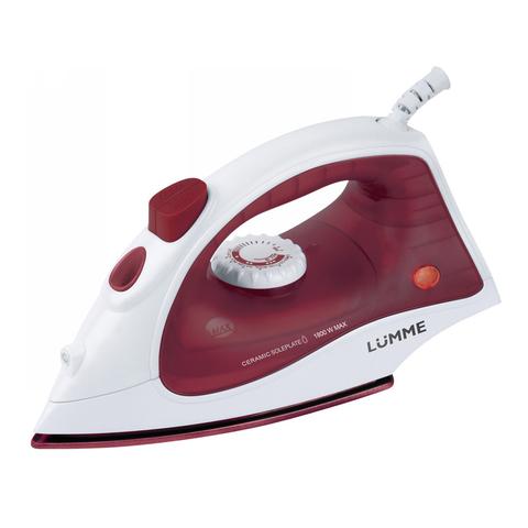 Утюг LUMME LU-1131 бордовый гранат
