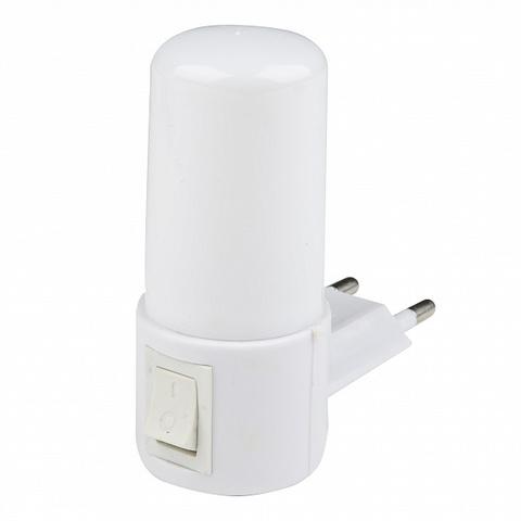 DTL-312 Светлячок/White Светильник-ночник. Механический выключатель. Белый. ТМ Uniel