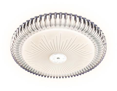 Потолочный светодиодный светильник с пультом FF95 WH белый 48W 3000K/4200K/6400K D390*60 (ПДУ ИК)