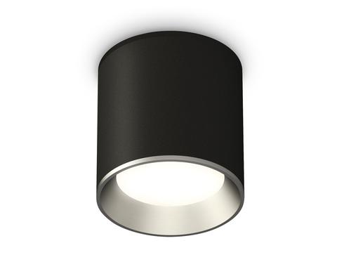 Комплект накладного светильника XS6302003 SBK/PSL черный песок/серебро полированное MR16 GU5.3 (C6302, N6104)