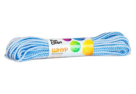 Шнур вязаный Fun Clean полипропиленовый 5мм 20м, цветной
