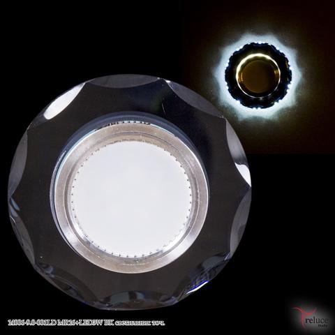 14006-9.0-001LD MR16+LED3W BK светильник точ.
