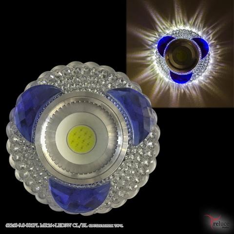 42240-9.0-001PL MR16+LED3W CL/BL светильник точ.