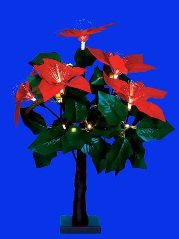 ULD-T2850-020/SNA/3AA WARM WHITE IP20 XMAS STAR Дерево светодиодное «Рождественская звезда», на батарейках 3АА (не в/к), 20х50см. 20 светодиодов. Теплый белый свет. TM Uniel