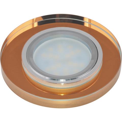 DLS-P106 GU5.3 CHROME/BRONZE Светильник декоративный встраиваемый ТМ