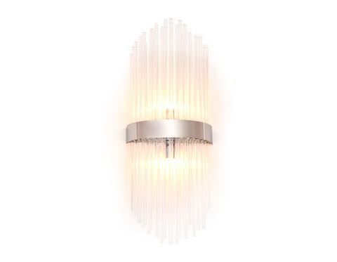 Настенный светильник с хрусталем TR5371/2 CH/CL хром/прозрачный G9/2 max 40W 500*200*100