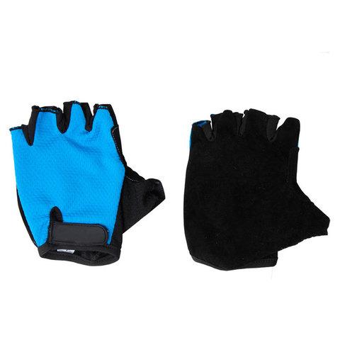 Перчатки велосипедные, VEL-23-5, синие