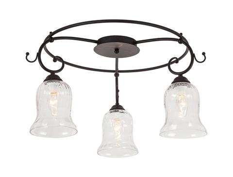 Потолочный светильник Escada Orlando 313/3PL E14*40W Black