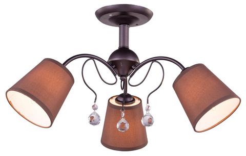 Потолочный светильник Escada 499/3PL E14*60W D620 Coffee