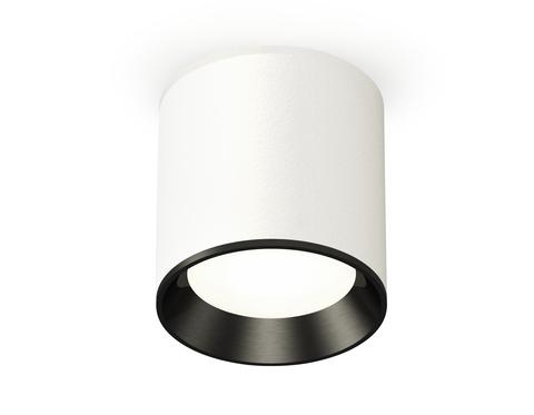 Комплект накладного светильника XS6301003 SWH/PBK белый песок/черный полированный MR16 GU5.3 (C6301, N6103)