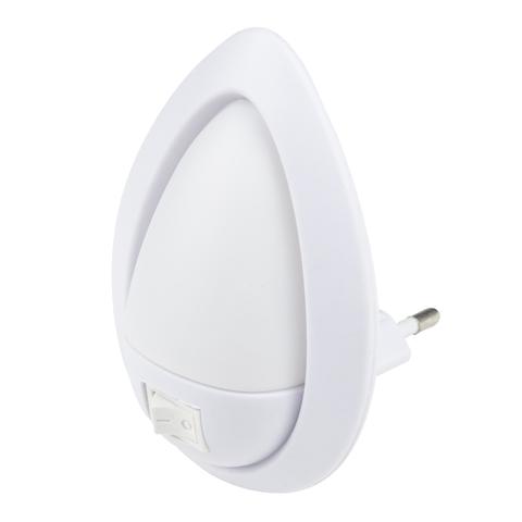 DTL-314 Огонек/White Светильник-ночник. Механический выключатель. Белый. ТМ Uniel