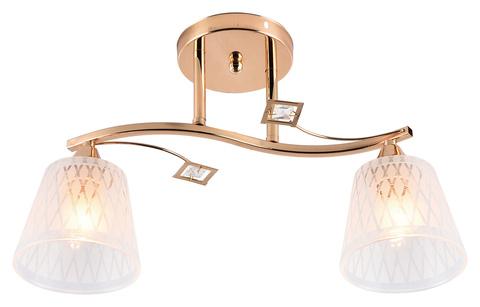 Потолочный светильник Escada 1125/2PL E27*60W Gold