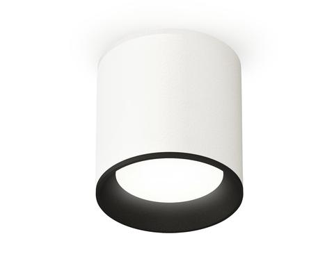 Комплект накладного светильника XS6301002 SWH/SBK белый песок/черный песок MR16 GU5.3 (C6301, N6102)