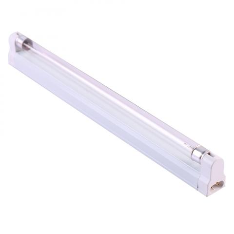UGL-S01A-8W/UVCB WHITE Светильник ультрафиолетовый бактерицидный с лампой Т5. Накладной. Без озонирования, 253,7 нм. Корпус белый. ТМ Uniel