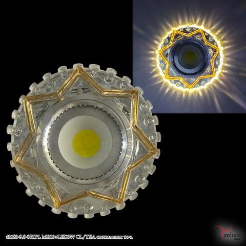 42183-9.0-001PL MR16+LED3W CL/TEA светильник точ.