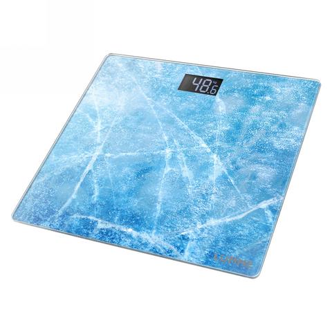 Весы напольные сенсор LUMME LU-1328 морозное утро