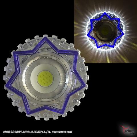42183-9.0-001PL MR16+LED3W CL/BL светильник точ.