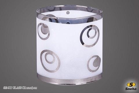 613-XY GLASS CR плафон
