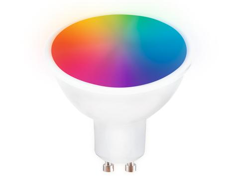 Светодиодная лампа Smart LED MR16 5W+RGB 3000K-6400K 220-240V